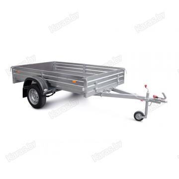 Прицеп для транспортировки снегоходов и другой мототехники МЗСА 817712.001-05